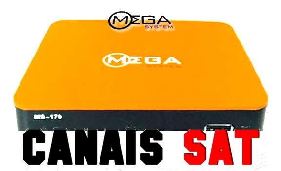 Mega System MS170 Nova Atualização V004 - 08/04/2019
