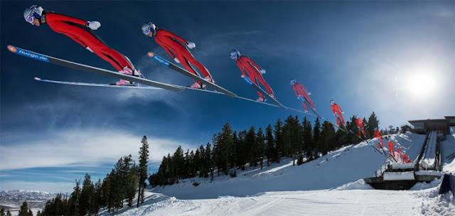 Ski Jump di Steinach, Jerman