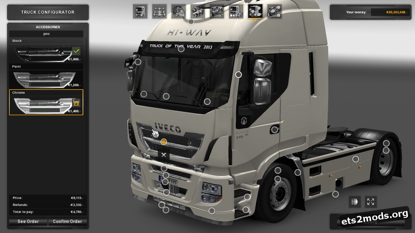 Iveco Hiway With Accessories V 0.1