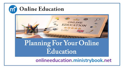 Planning For Your Online Education