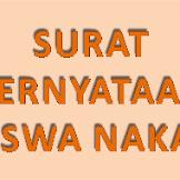 Contoh Surat Pernyataan Siswa Nakal Tidak Akan Mengulangi Perbuatannya