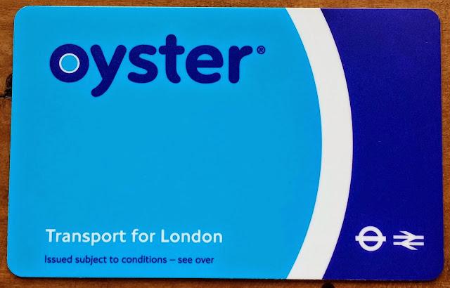 Transporte em Londres, Oyster Card