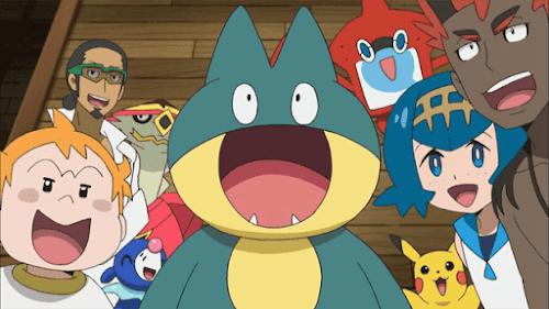Pokémon Sol y Luna Ultra Aventuras Capitulo 5 Temporada 21 La noche de las mil poses