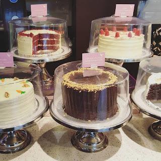 hummingbird bakery cupcakes and cake counter