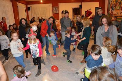 Χριστουγεννιάτικη γιορτή για παιδιά μελών και οδηγών του Ράδιο Ταξί Κατερίνης