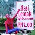 Spiderman Tak Ada Job Jual Nasi Lemak