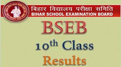 Bihar 10th Result 2016