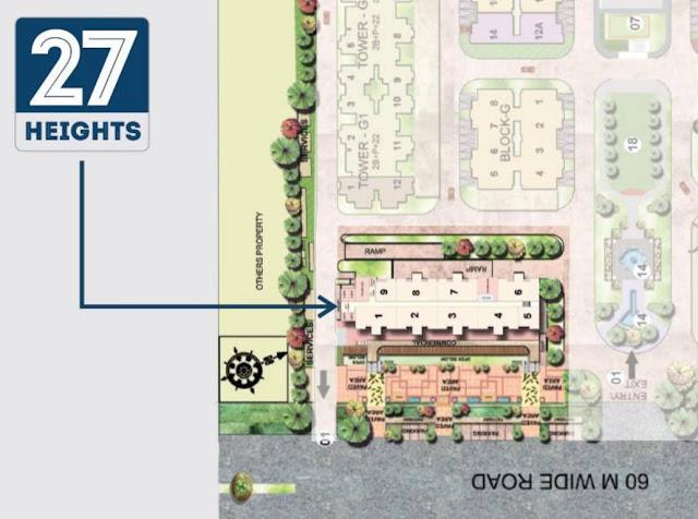 Supertech 27 Heights - Master Plan