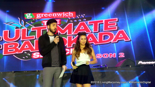 MTV VJs Yassi Pressman and Andre Paras