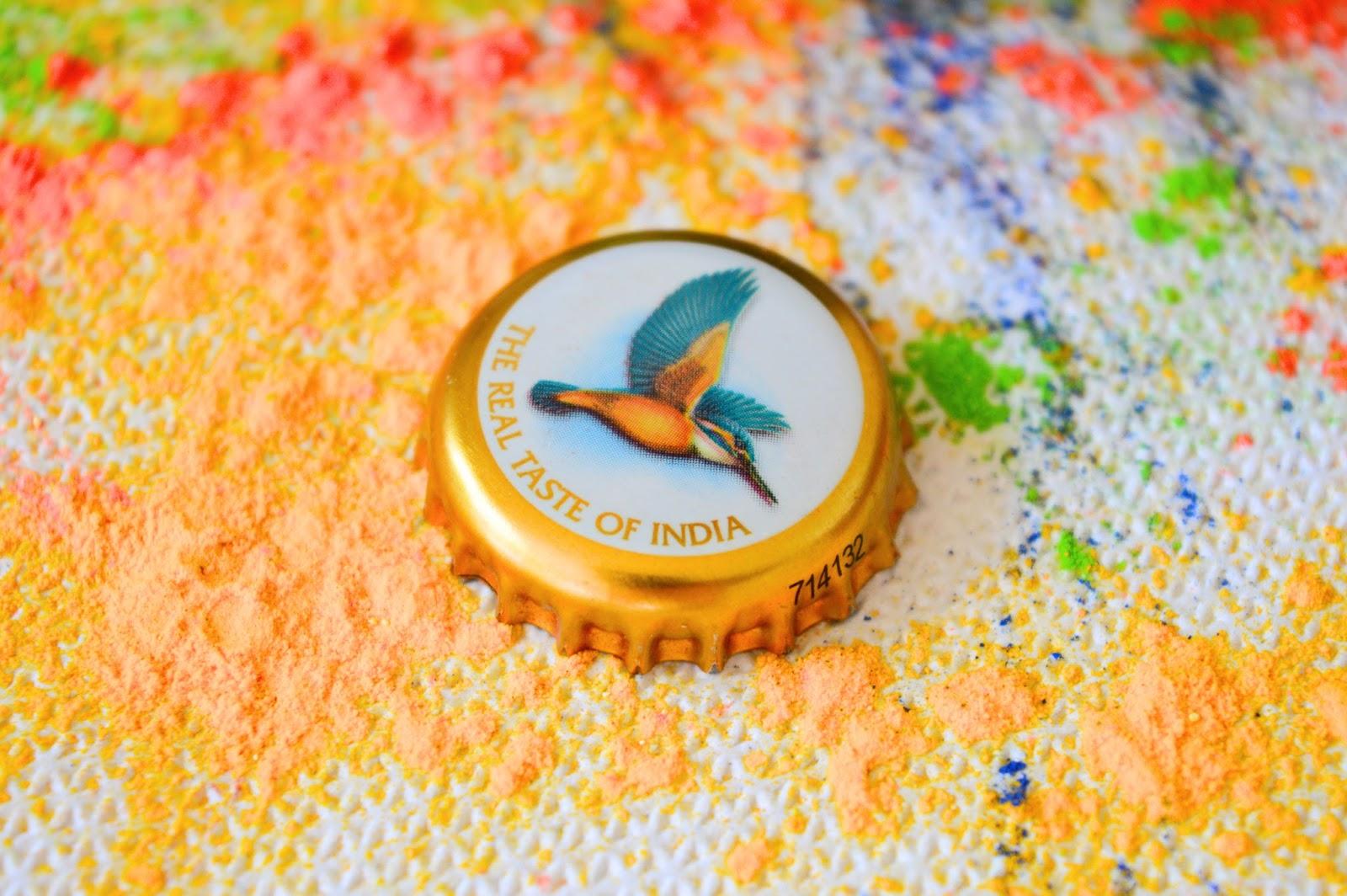 Kingfisher beer, Holi festival recipes, food bloggers, food blog