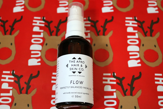 The Afro Hair and Skin Company Flow Facial Oil