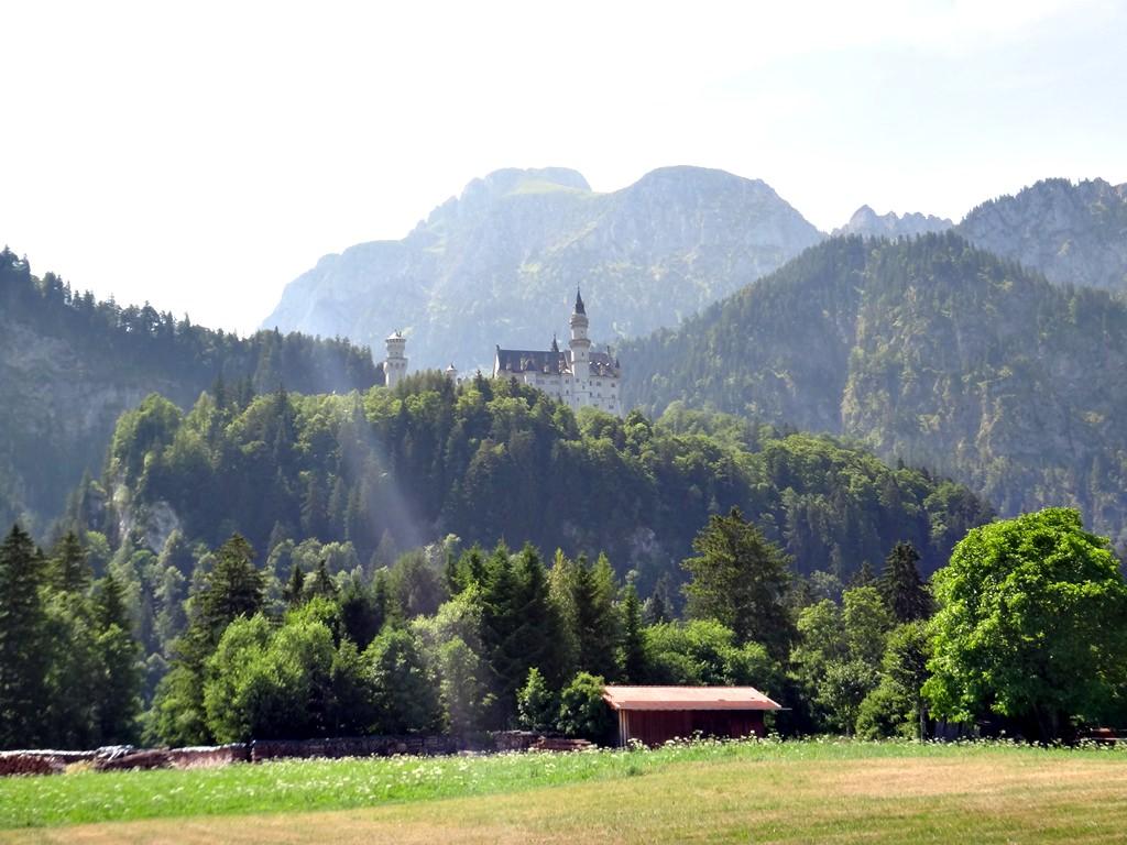 Castelo Neuschwanstein Castelo da Cinderela da Disney
