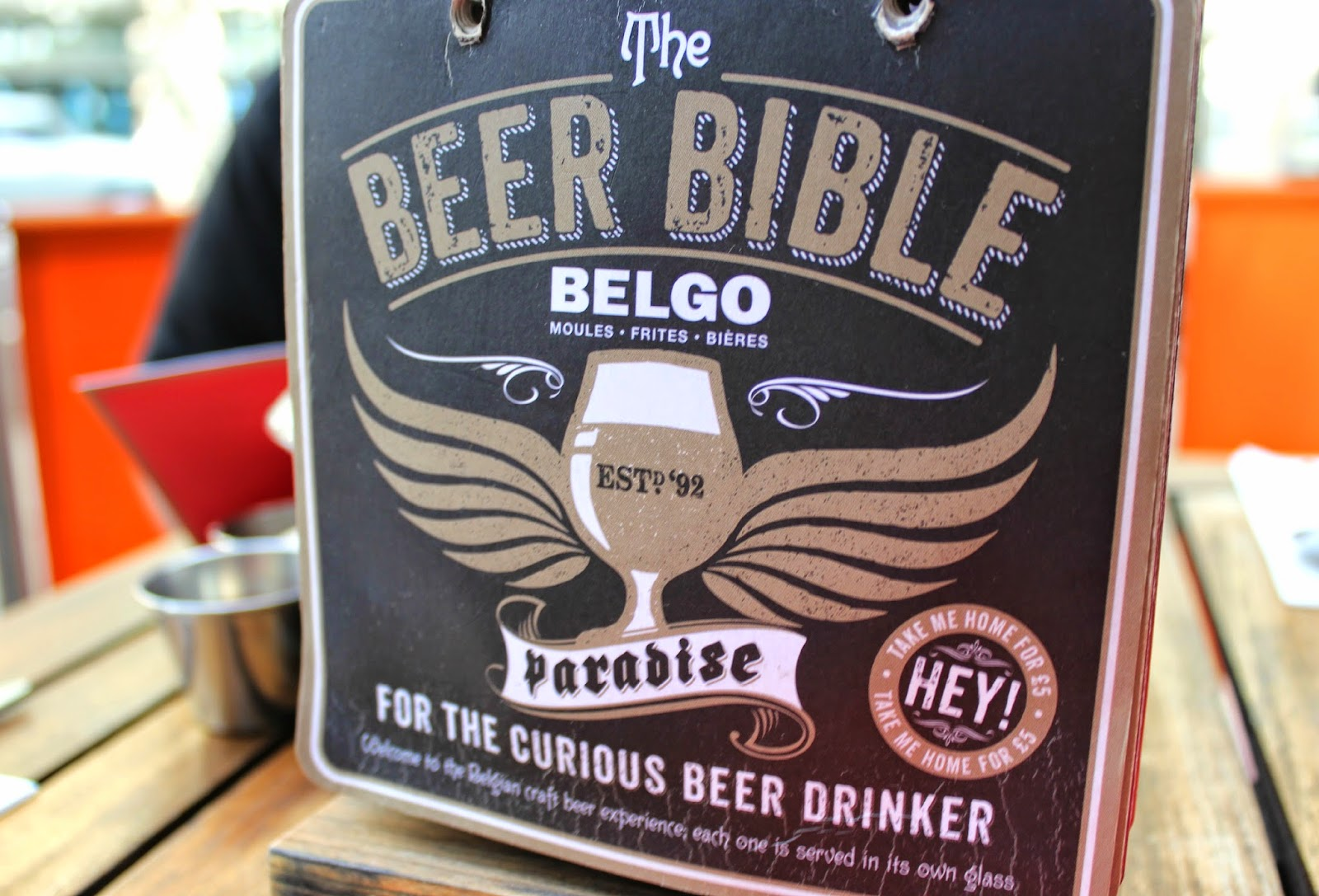 A picture of the Belgo Beer Bible