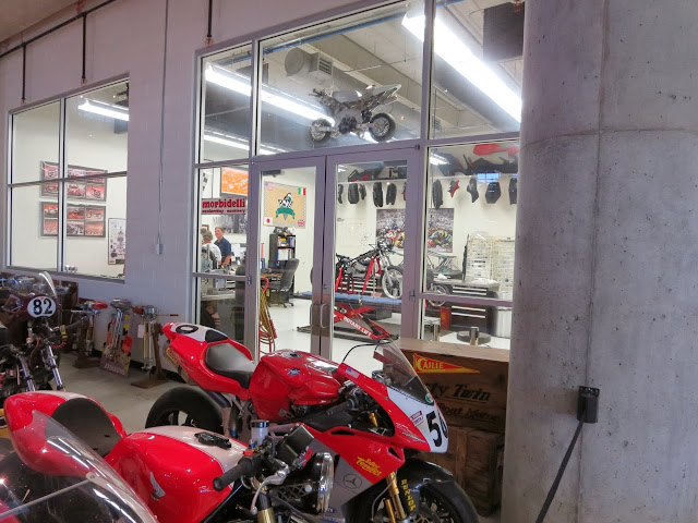 Barber Museum Race Shop