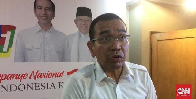 """Tanggapi GP Ansor, Tim Jokowi Klaim Tak Ada Kelompok Radikal """"Itu sama GP Ansor saja. Saya enggak mau campur-campurlah"""""""