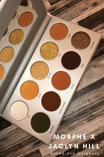 Morphe X Jaclyn Hill Armed and Gorgeous (Review and Swatches)