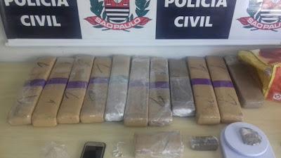 POLÍCIA CIVIL DE REGISTRO PRENDE TRAFICANTE NO JARDIM SÃO PAULO EM REGISTRO-SP