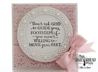 Our Daily Bread Designs Stamp Set: God Quotes 2, Custom Dies:  Fancy Circles, Circles, Paper Collection: Heart and Soul