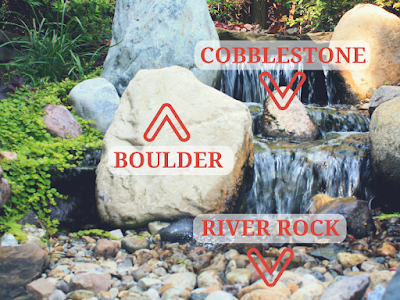 cobblestone boulder river rock