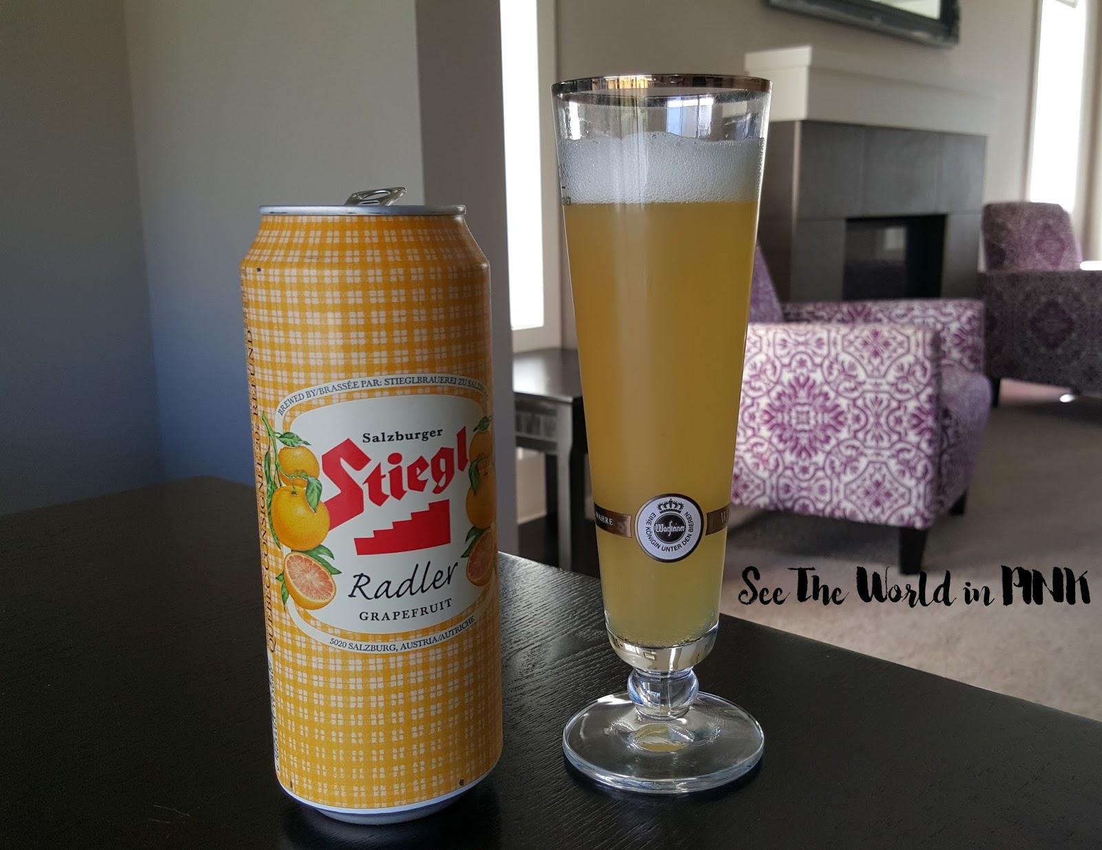 Stiegl Radler Grapefruit beer