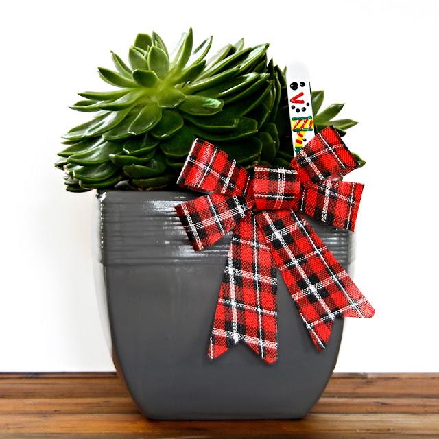 Creativity Unmasked: Easy DIY Christmas Plant Markers and Gift Tags
