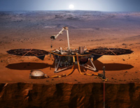 NASA's InSight Spacecraft Send Some Picture After Safely on Mars
