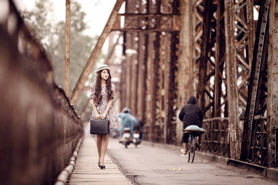 Địa chỉ chụp ảnh đẹp trên cầu Long Biên