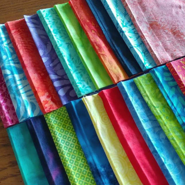 Stash builder strips by Island Batik