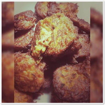 Squash and Carrot Fritters
