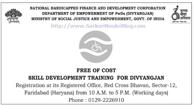 Free Coaching PWD Divyangjan