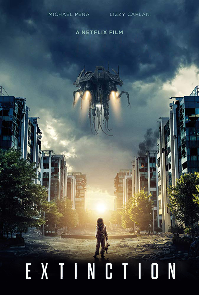 Extinction [2018] [DVDR] [NTSC] [CUSTOM HD] [Latino]