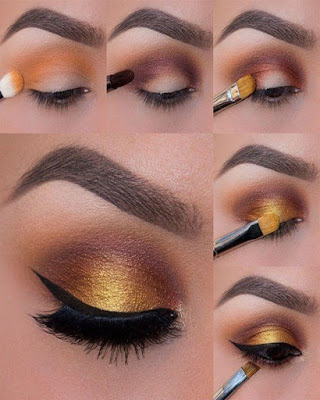 Eye makeup for beginners step by step