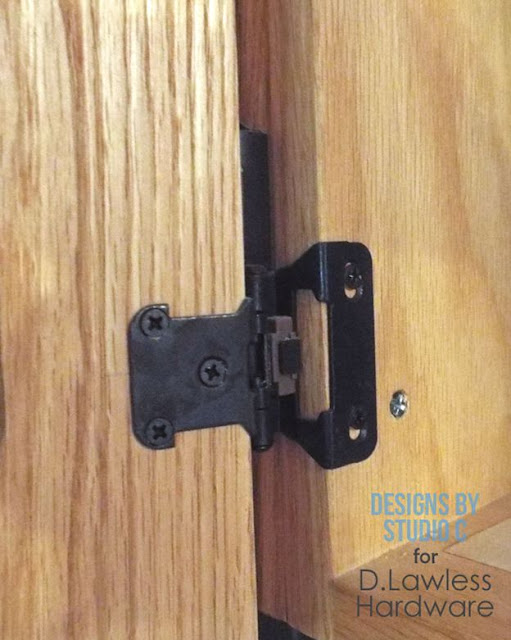 install overlay hinges
