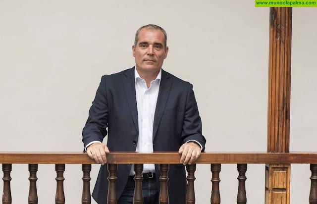 Gonzalo Pascual tomará posesión de su acta de consejero del Cabildo este viernes