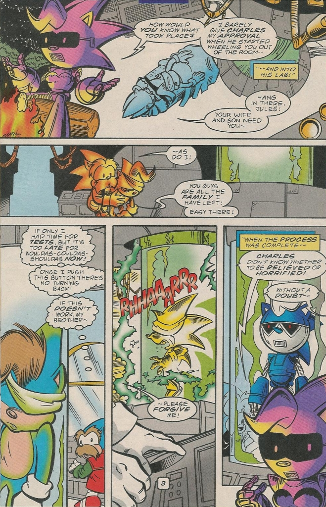Read online Sonic The Hedgehog comic -  Issue #78 - 25