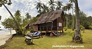 Enam  Penginapan Terapung Yang Berada di Indonesia
