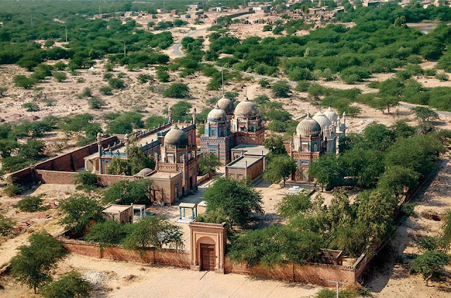 Historical Derawar graveyard