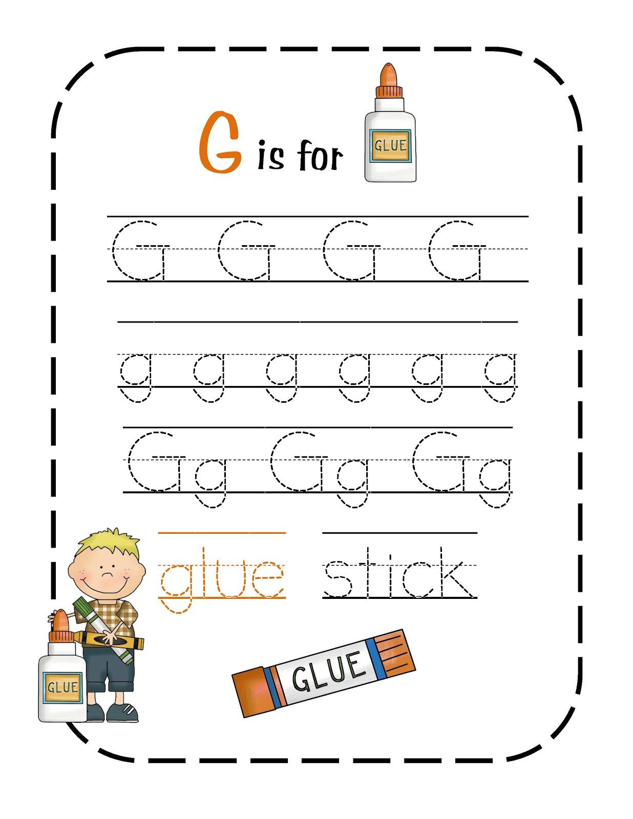 Preschool Printables June