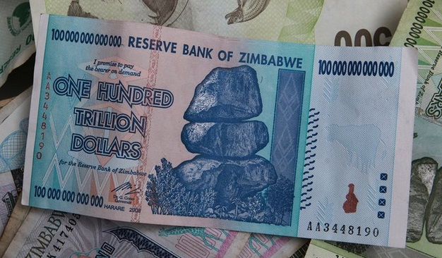 See Zimbabwe 100 Trillion Dollar Note That Cannot Bread