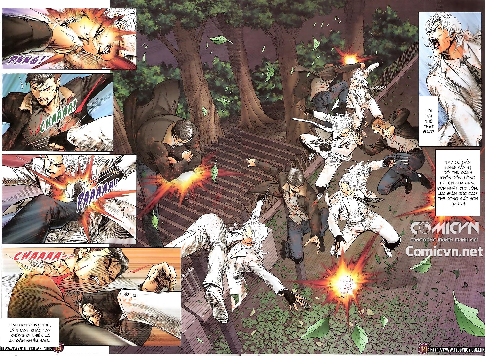 Người Trong Giang Hồ chapter 1677: sát thủ trang 12