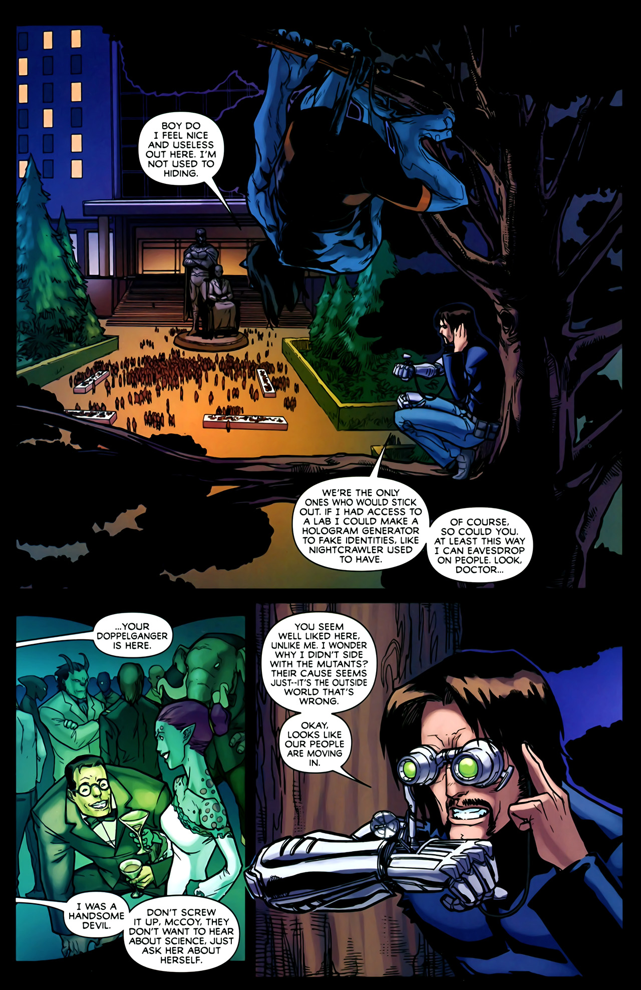 Read online Exiles (2009) comic -  Issue #2 - 17