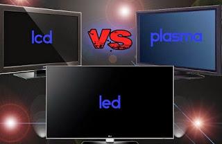 perbedaan tv lcd dan led dan plasma,perbedaan tv lcd dan led serta plasma,