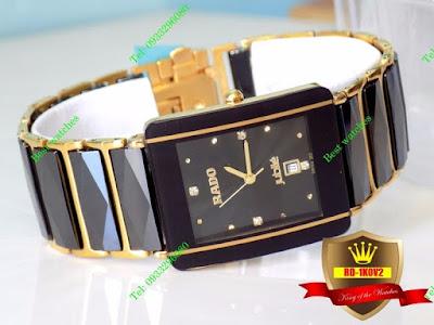 Đồng hồ nam mặt vuông Rado 1K0V2