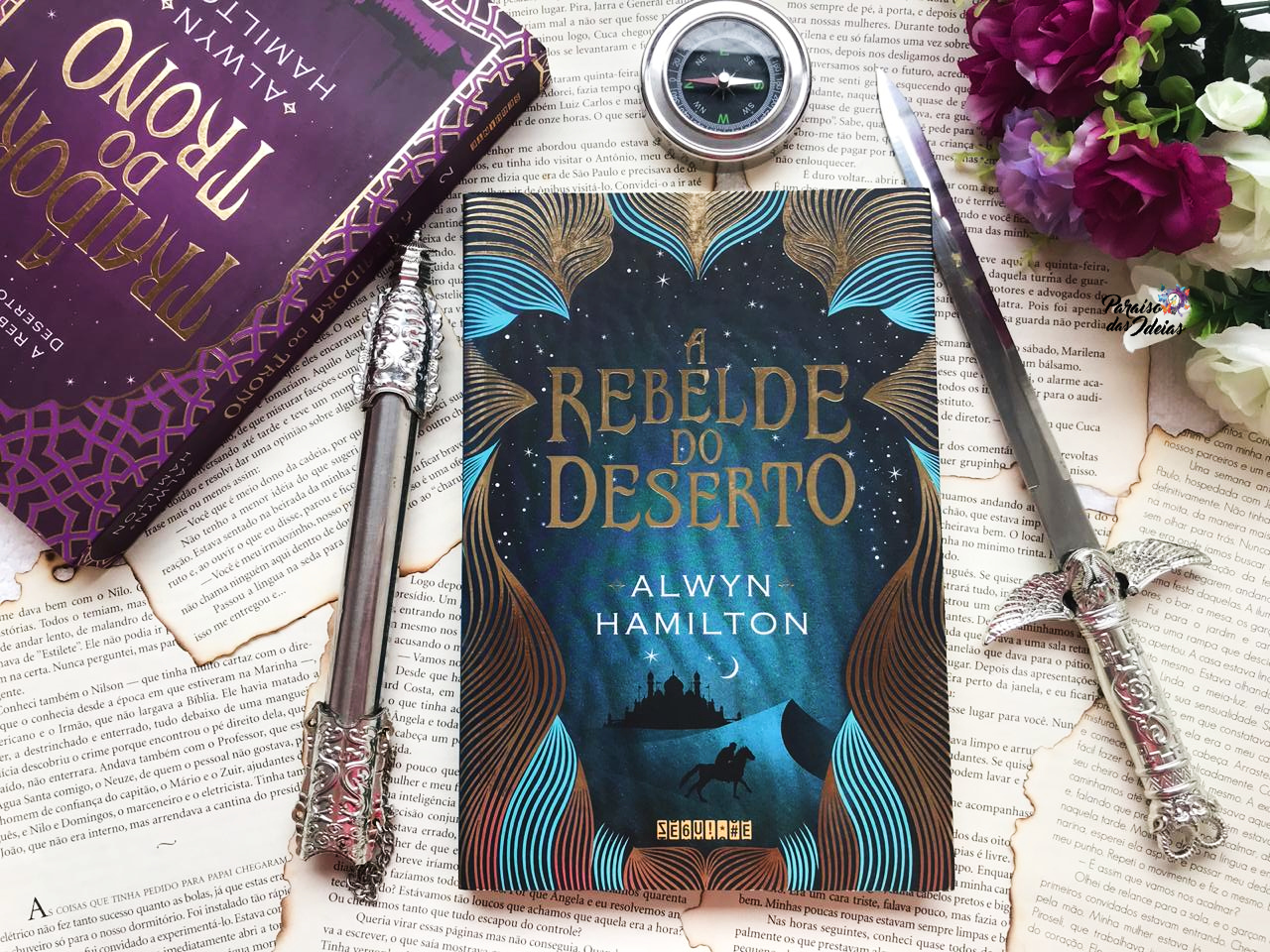 A Rebelde do Deserto #01 - Alwyn Hamilton