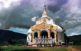 Myanmar Buddhist Shrine