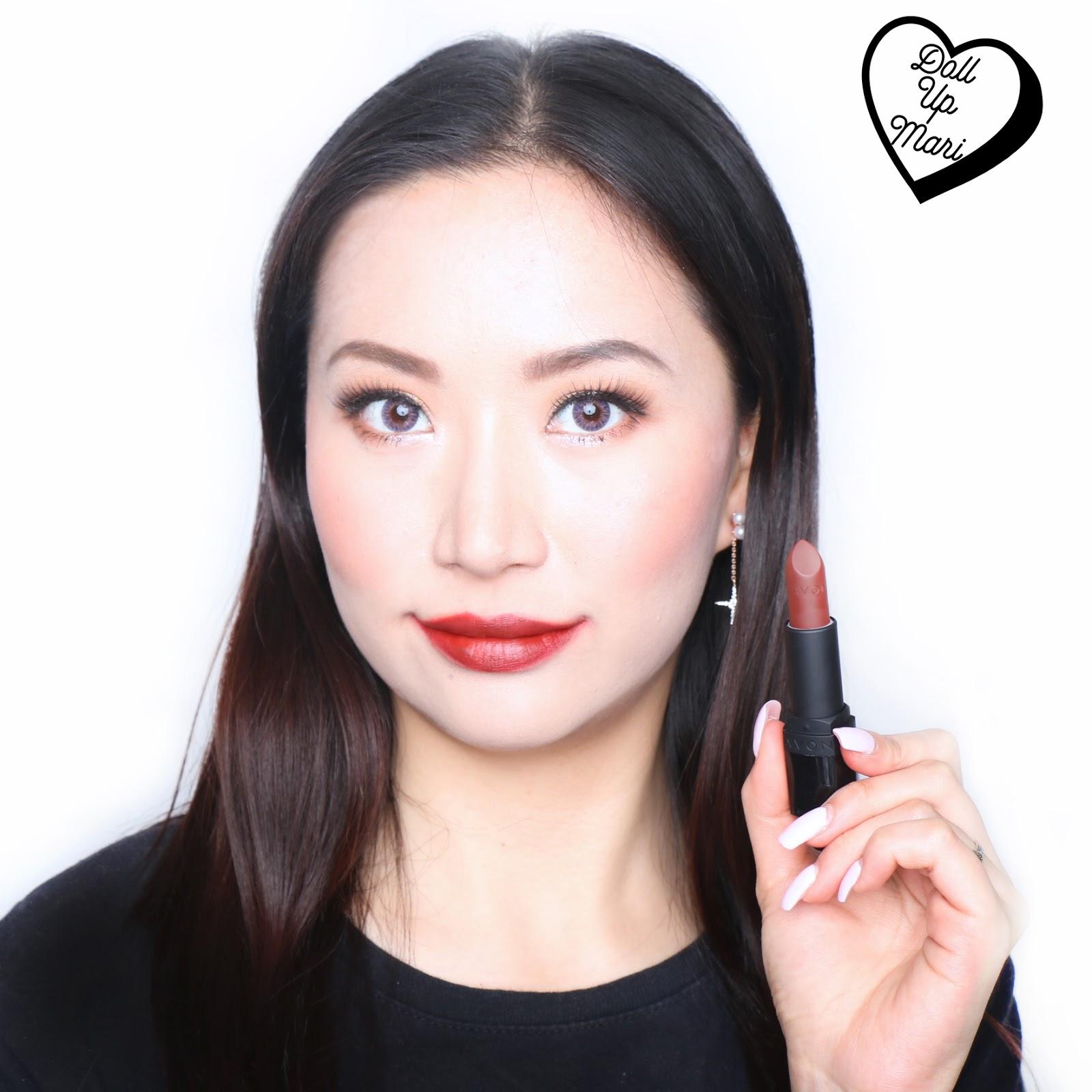 New Avon True Color Perfectly Matte Nude Lipsticks Doll Up Mari