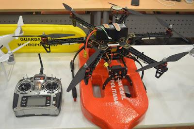 Drone salva-vidas é testado na Represa do Guarapiranga