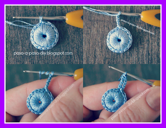 tejer una flor al crochet