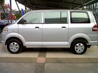 Eksterior Mitsubishi Maven Tampak Samping