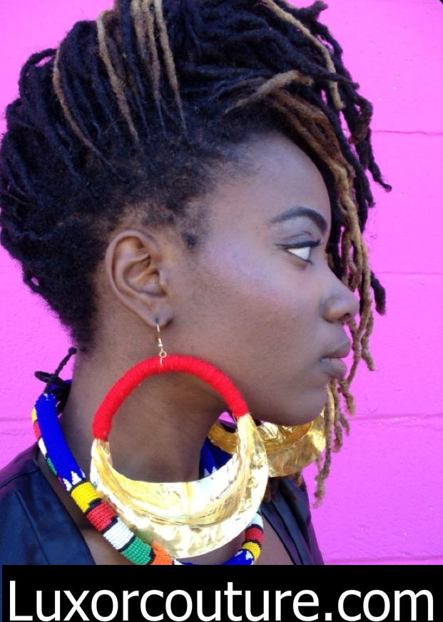 Luxor Couture Fulani Earrings 40 00 Extra Large Jumbo